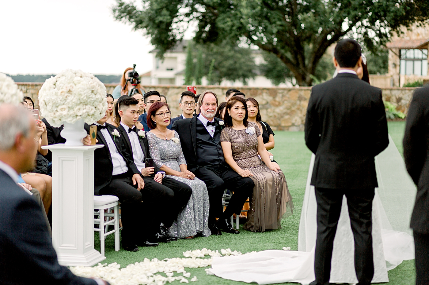 outdoor wedding at bella collina