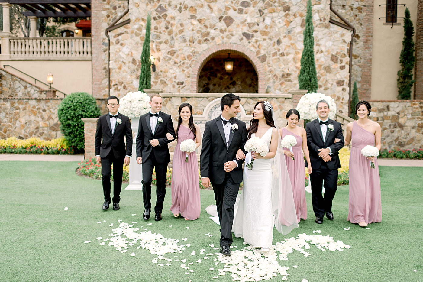 wedding at bella collina
