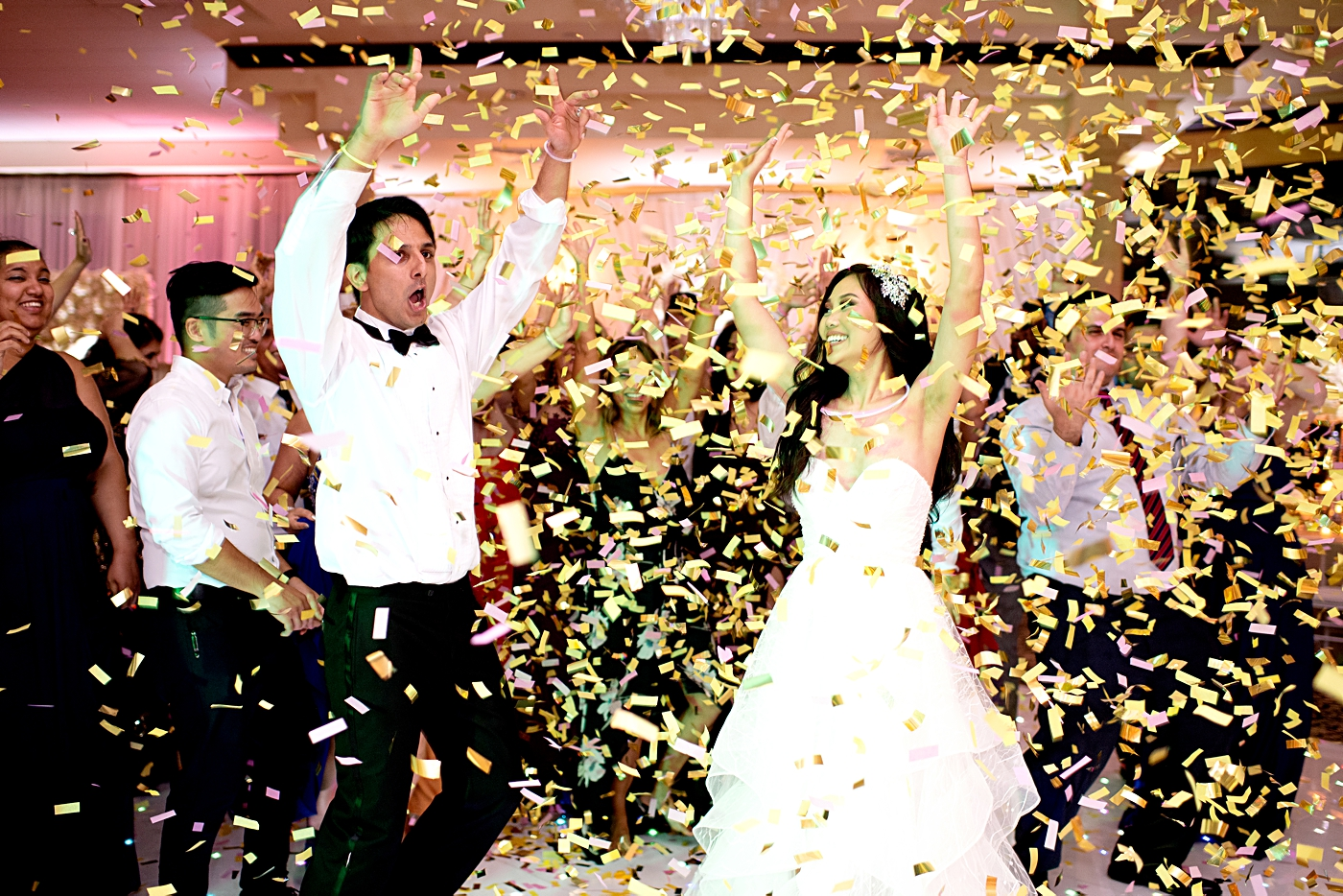 confetti at receptions