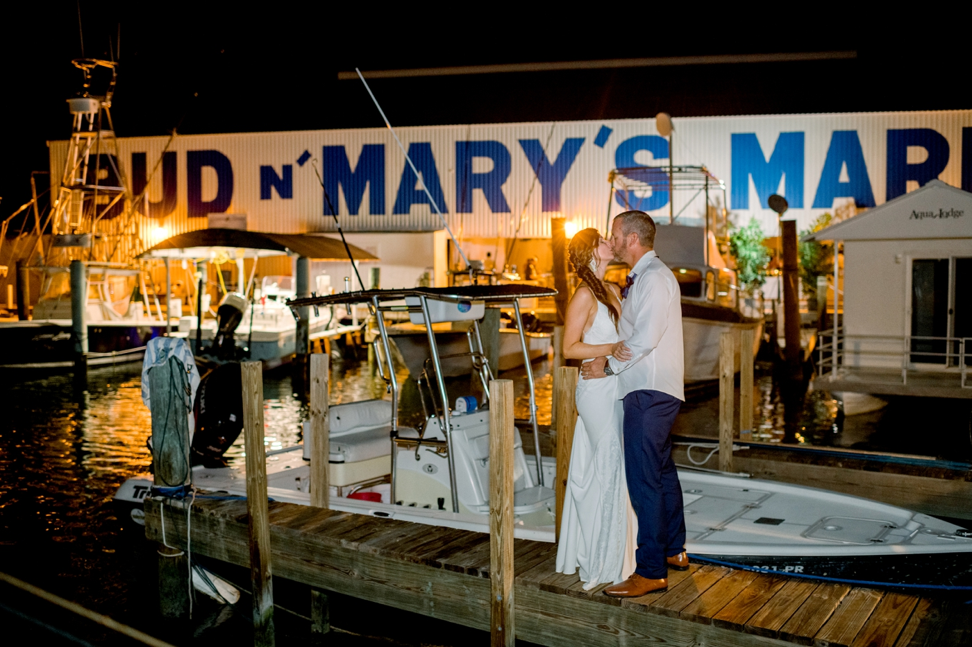 bud n mary's marina wedding