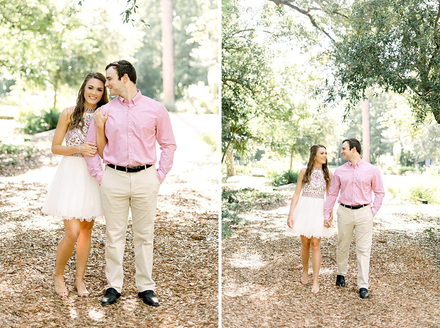 mead gardens engagement photography