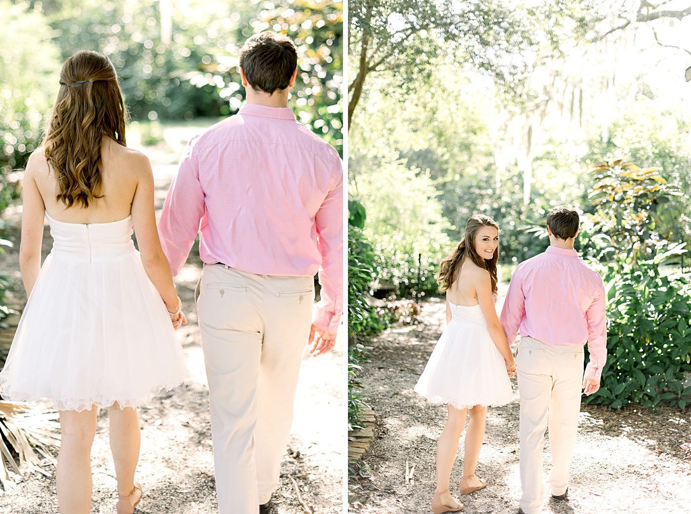 mead gardens engagement photographer