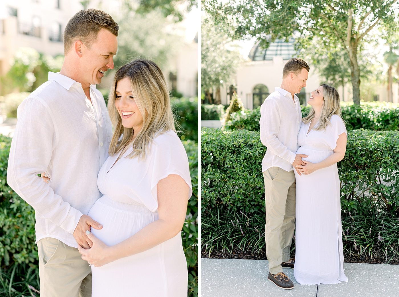 winter park maternity session
