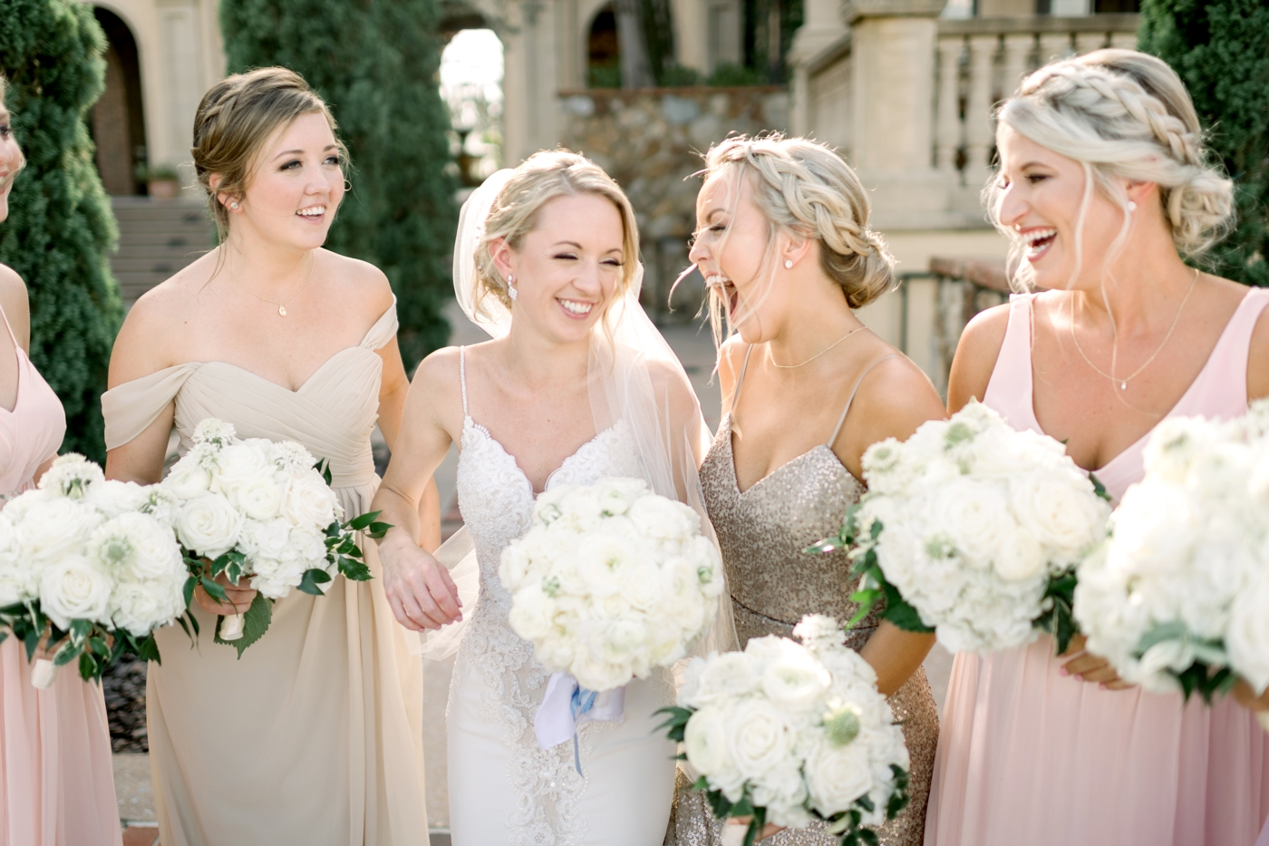 candid bridesmaid photos