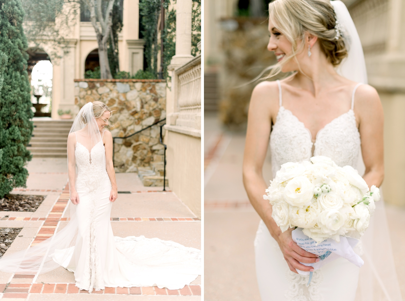 bridal portraits at bella collina