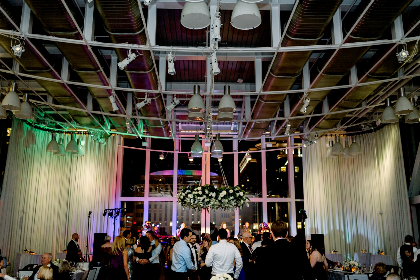Dr. phillips center wedding reception photography