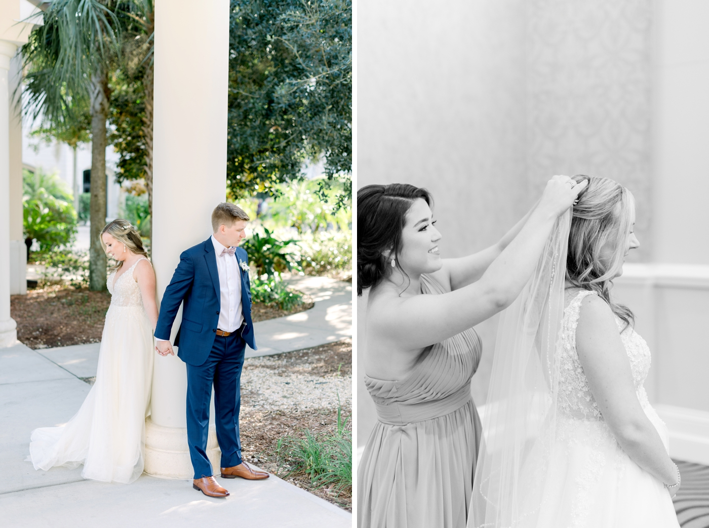 orlando bride and groom photography