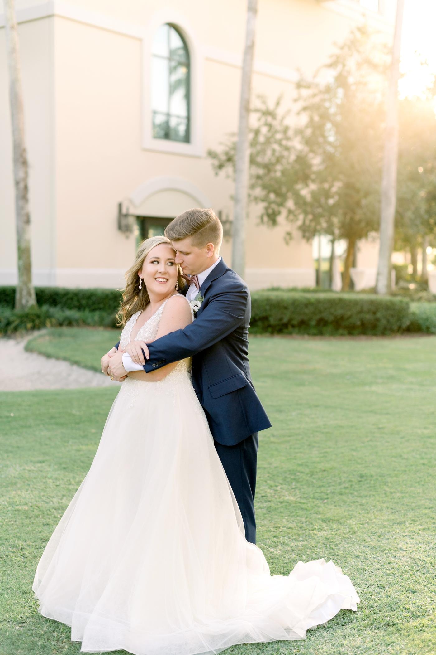 bride and groom photography orlando