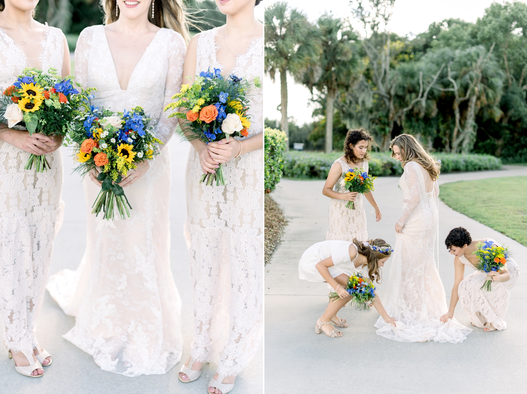 winter springs florist wedding