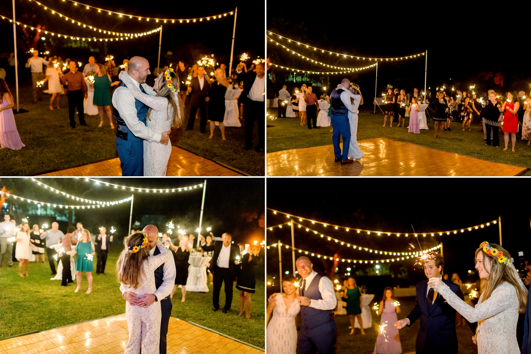 Tuskawilla country club wedding reception photography