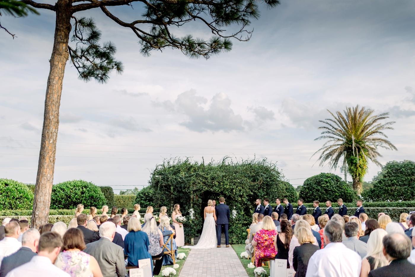 Vero Beach Wedding Ceremony