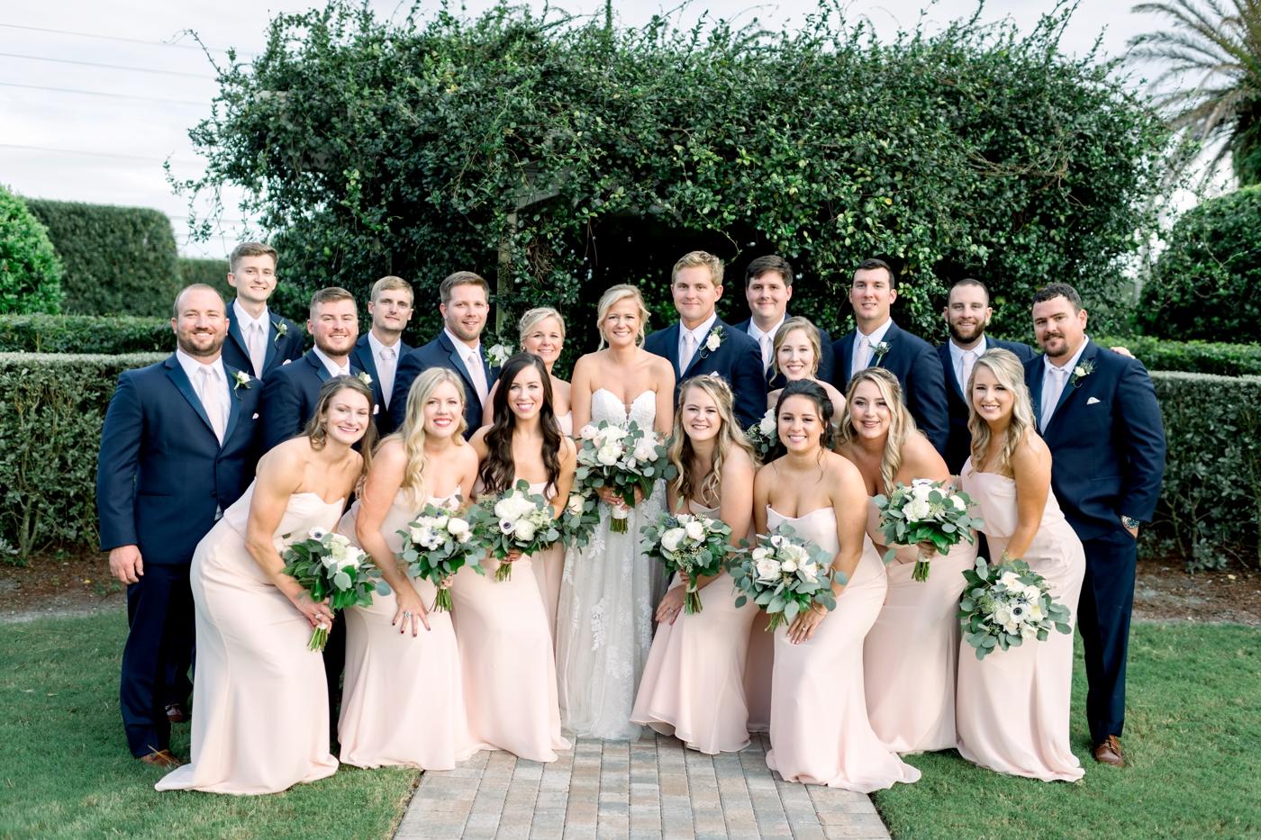 Vero Beach Wedding Party
