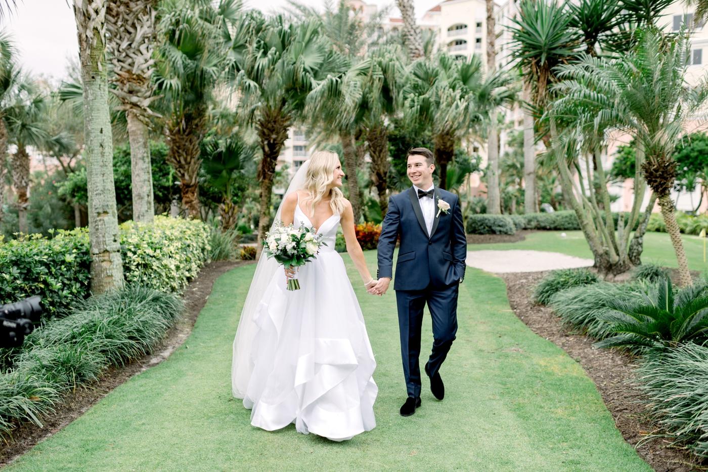 modern wedding palm coast