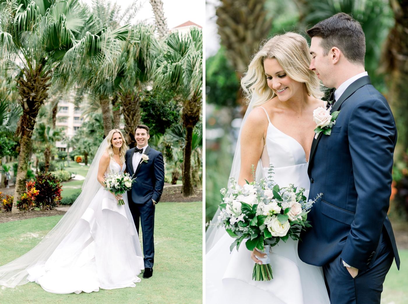 palm coast modern wedding photography