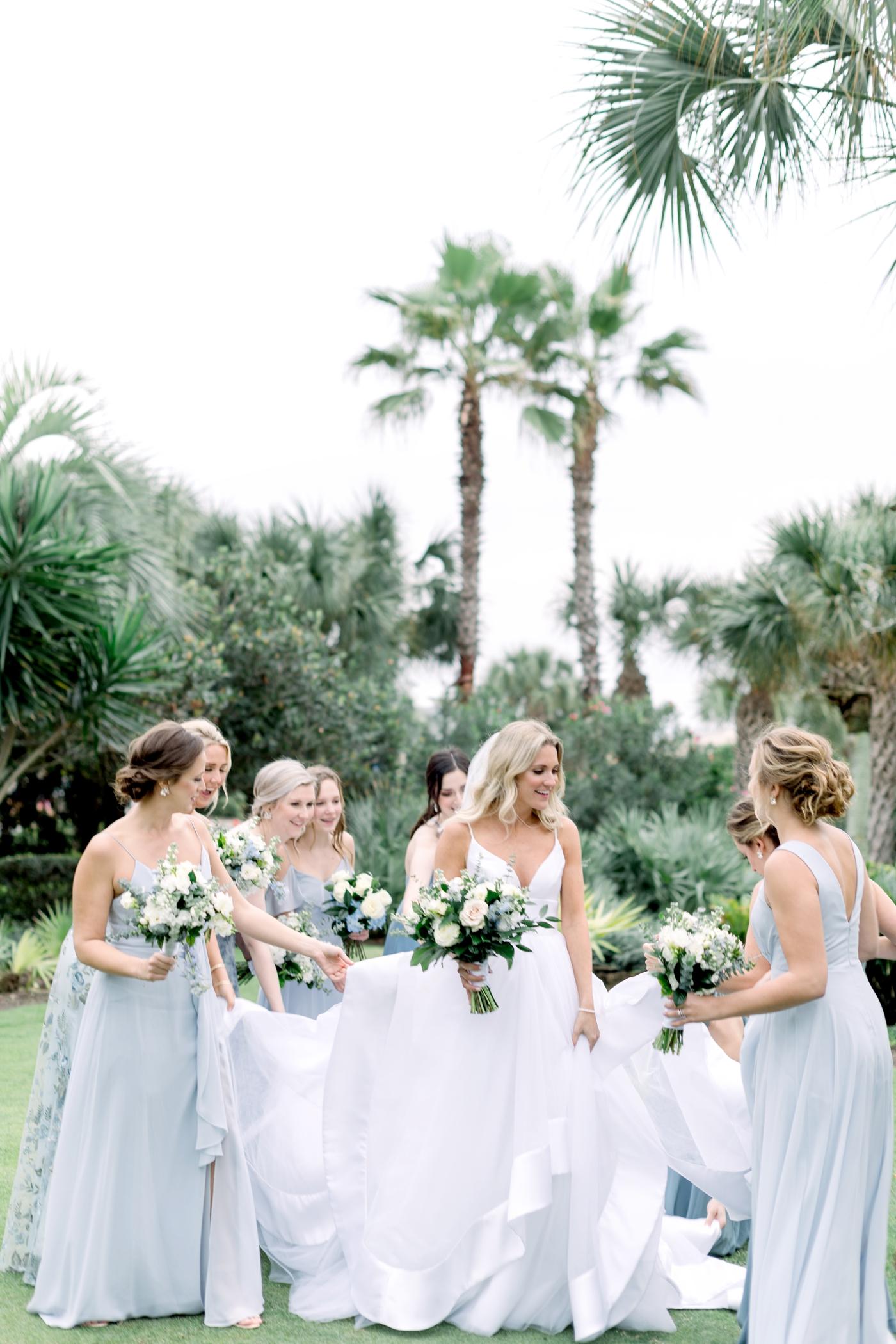 modern dress orlando wedding