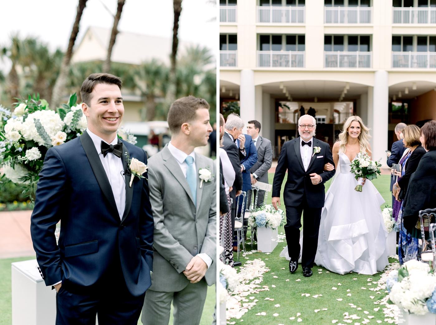 modern clean wedding orlando