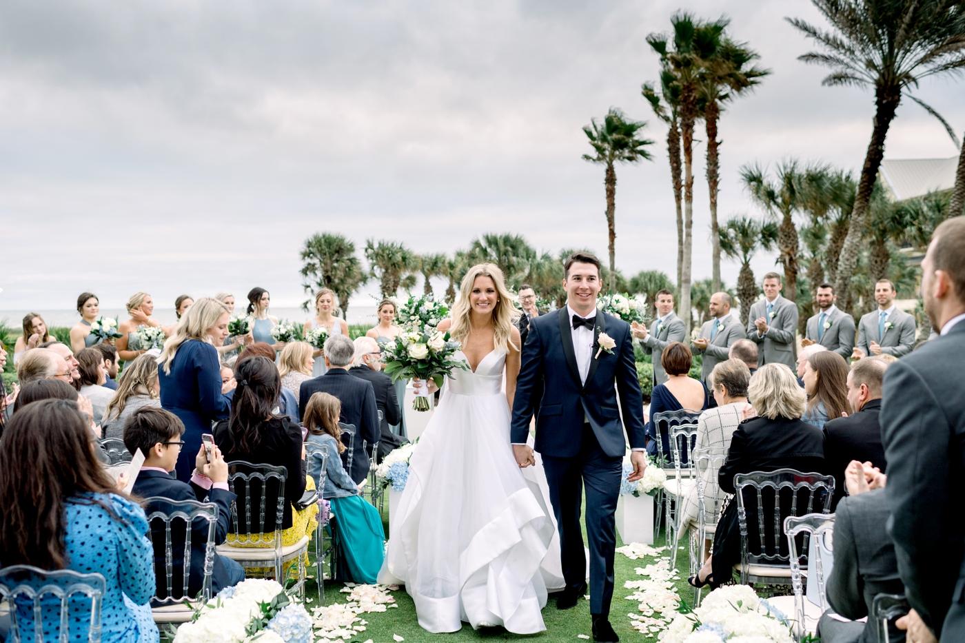 white florals wedding orlando