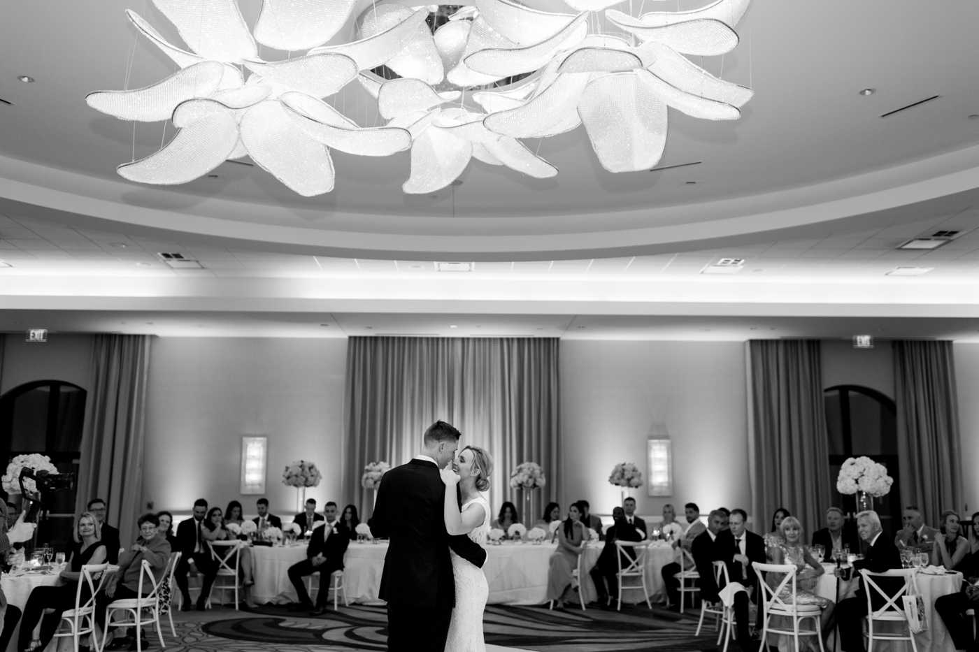 Omni wedding ballroom photography
