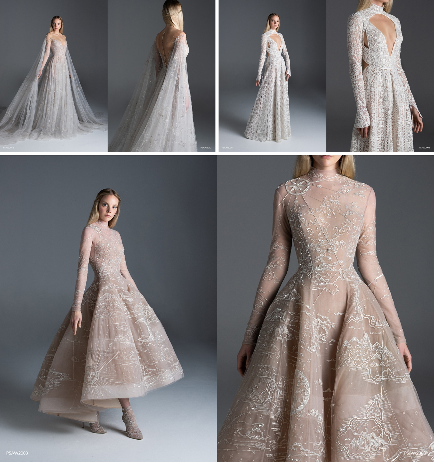 Paolo Sebastian wedding dress designer
