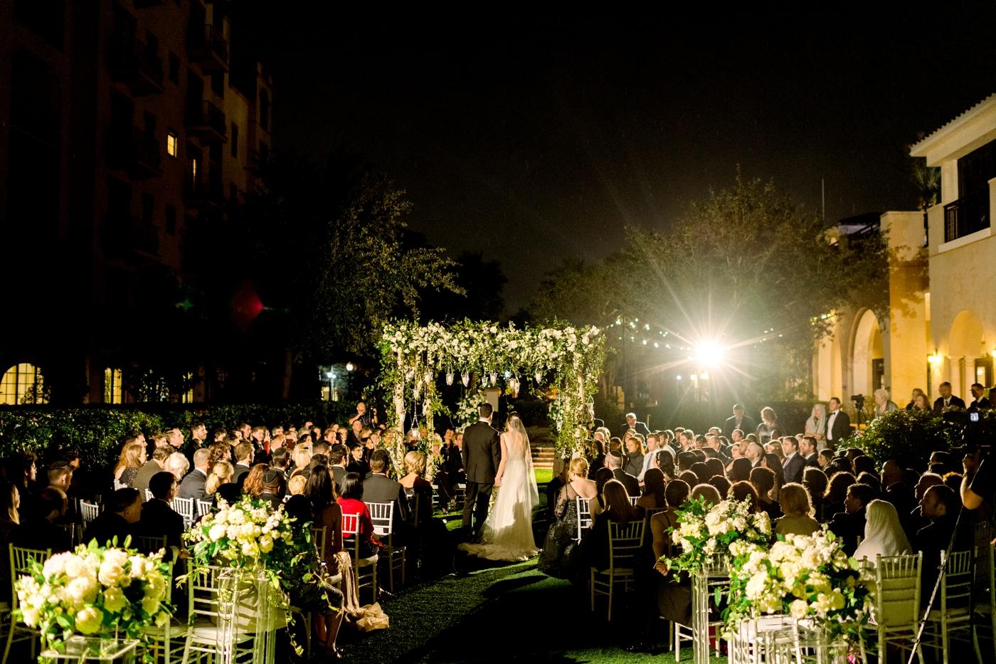 alfond inn lawn ceremony chuppah