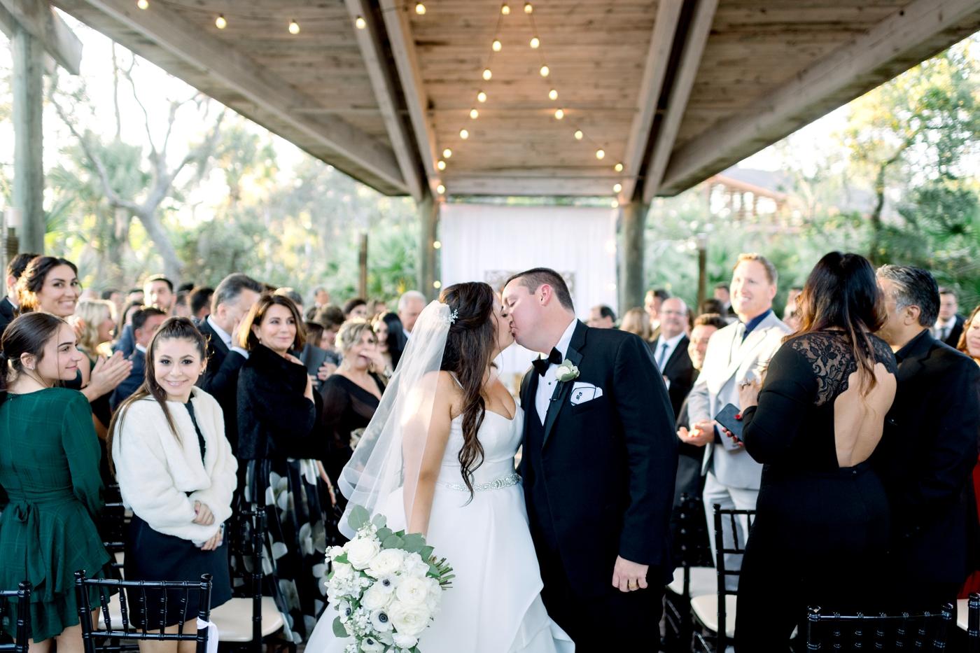 outdoor wedding ceremony photographer