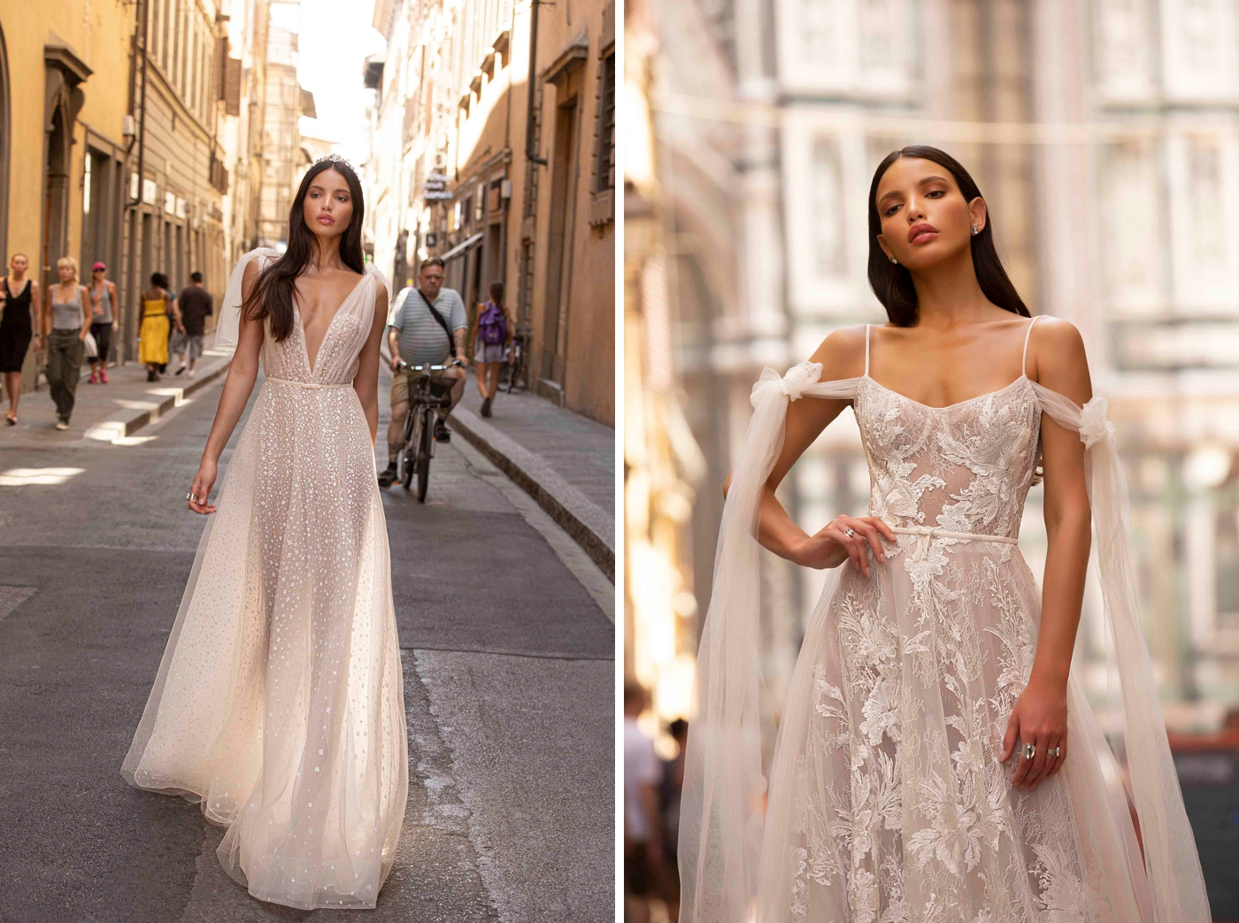 Berta Balilti wedding dress designer