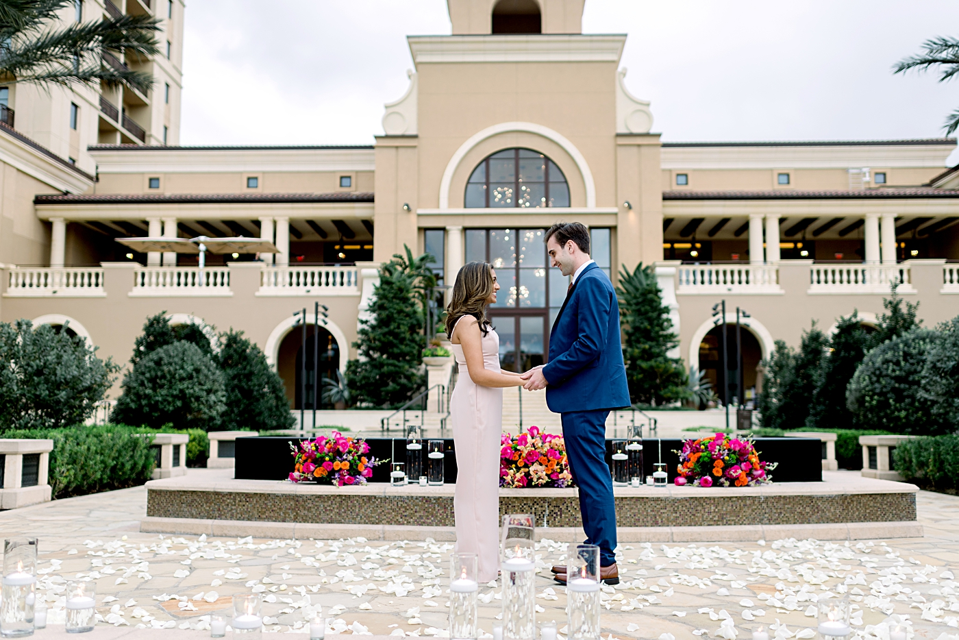 surprise proposal at the four seasons orlando
