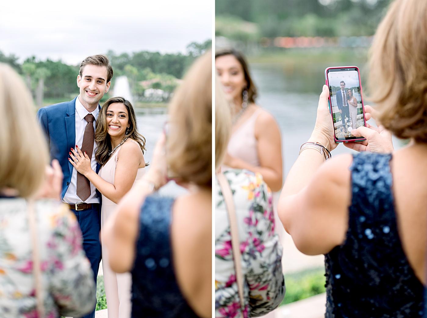 surprise proposal party