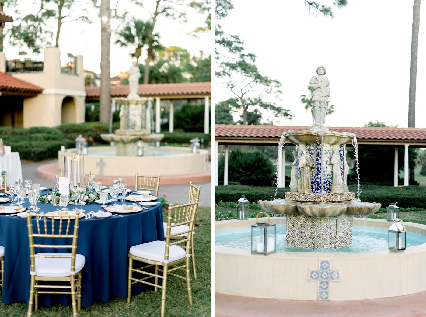 outdoor reception mission inn resort