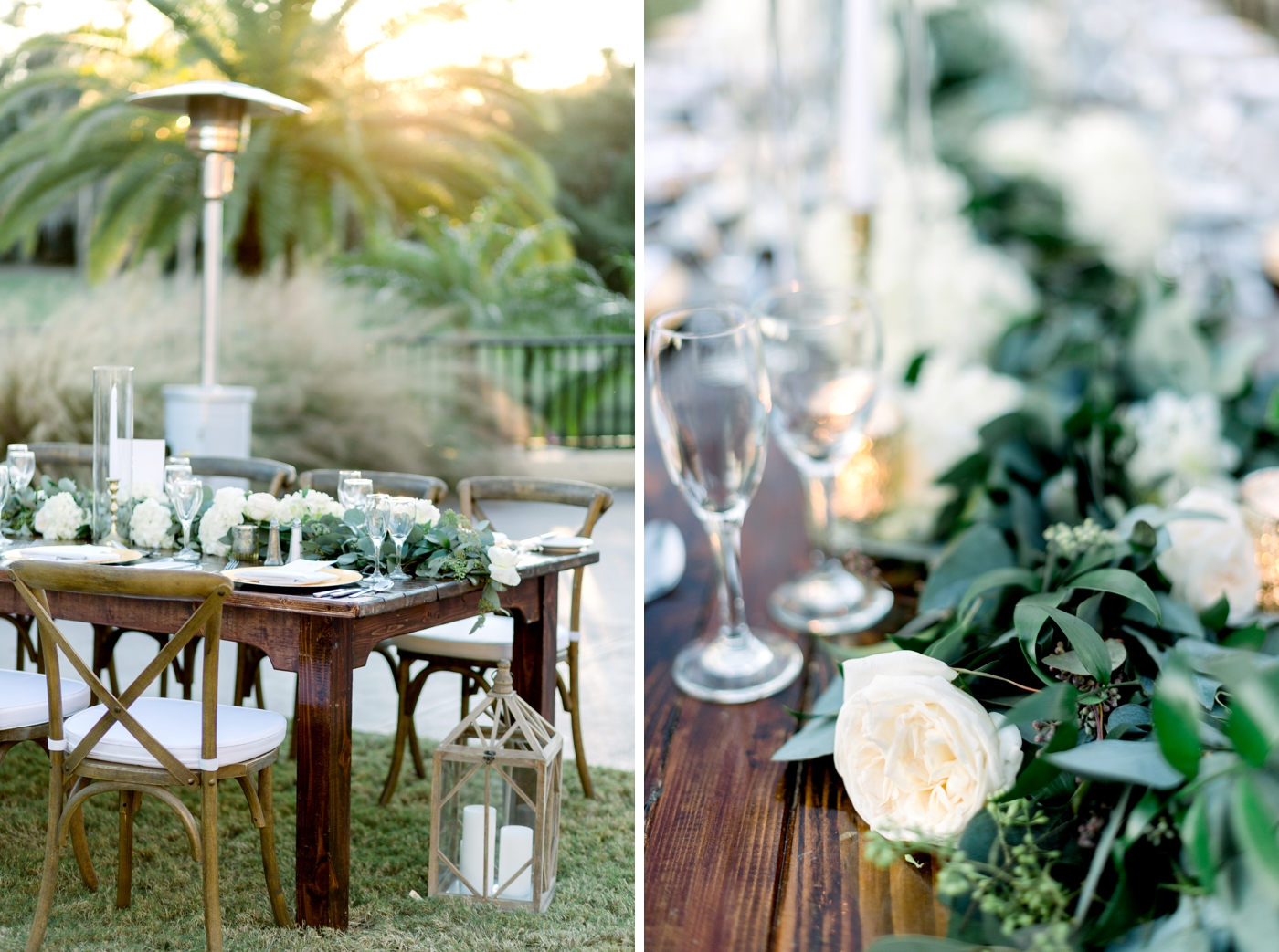 farmwood table rental orlando