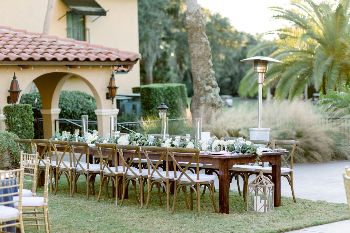 outdoor mission inn wedding