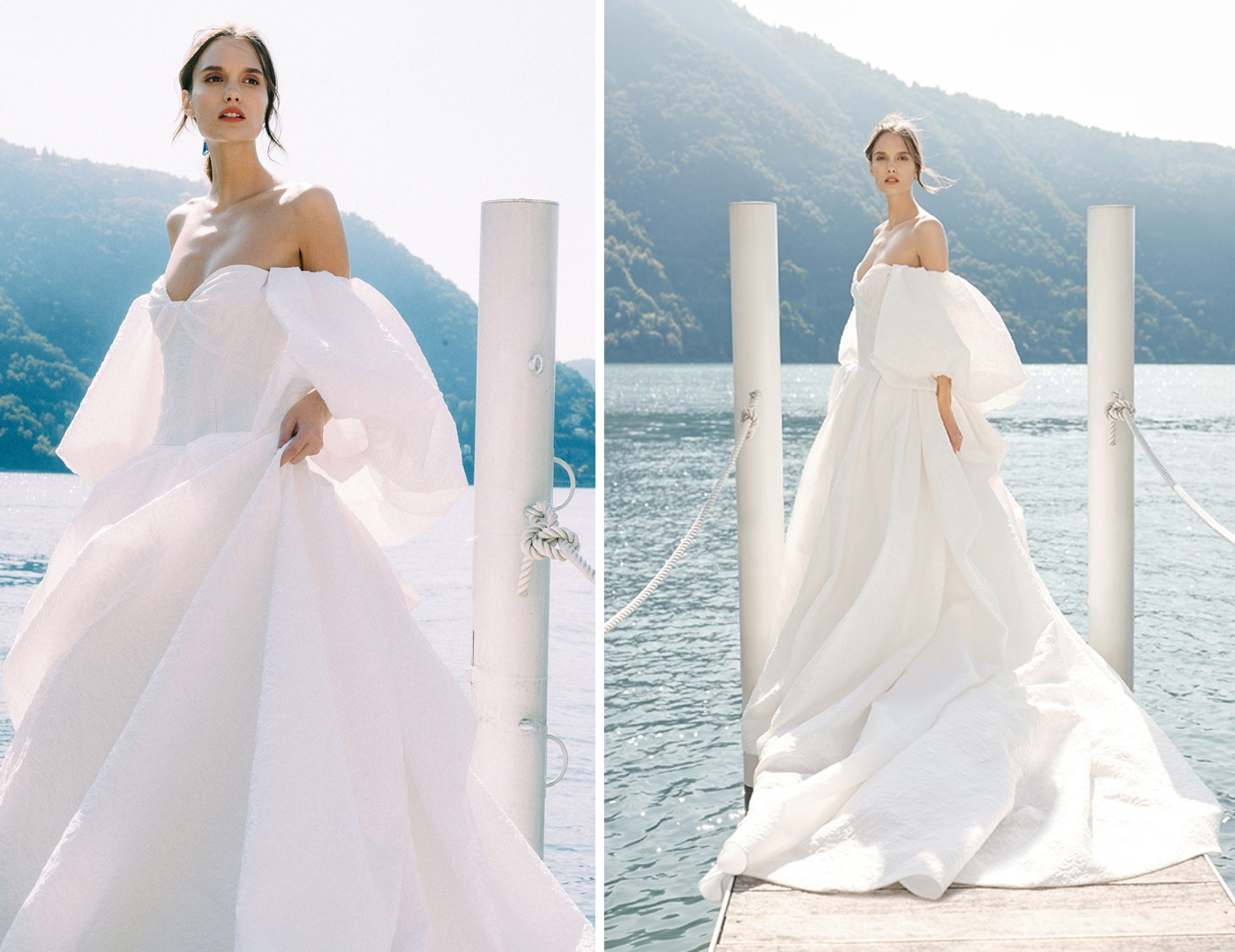 Monique Lhuillier wedding dress designer