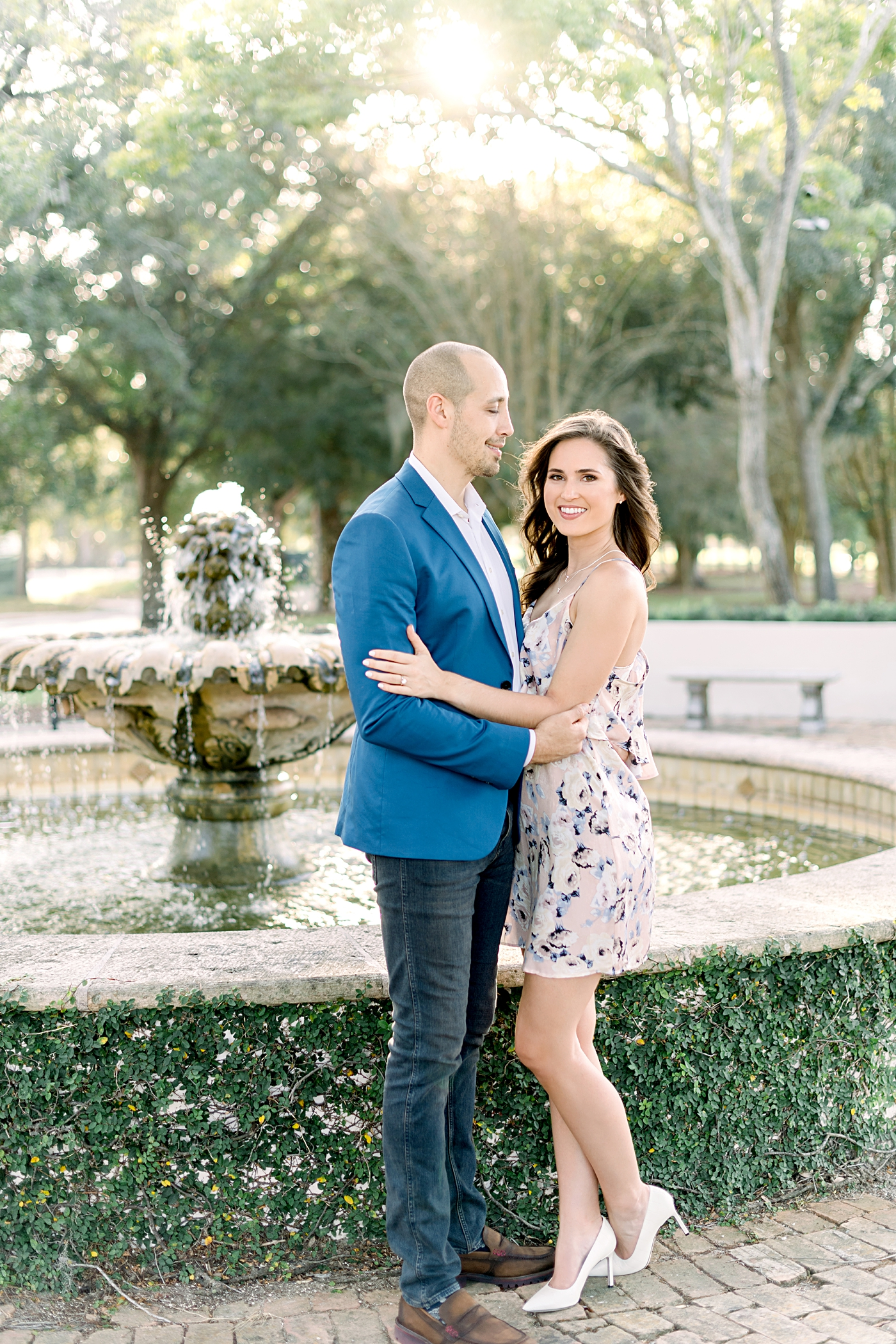 winter park engagement session