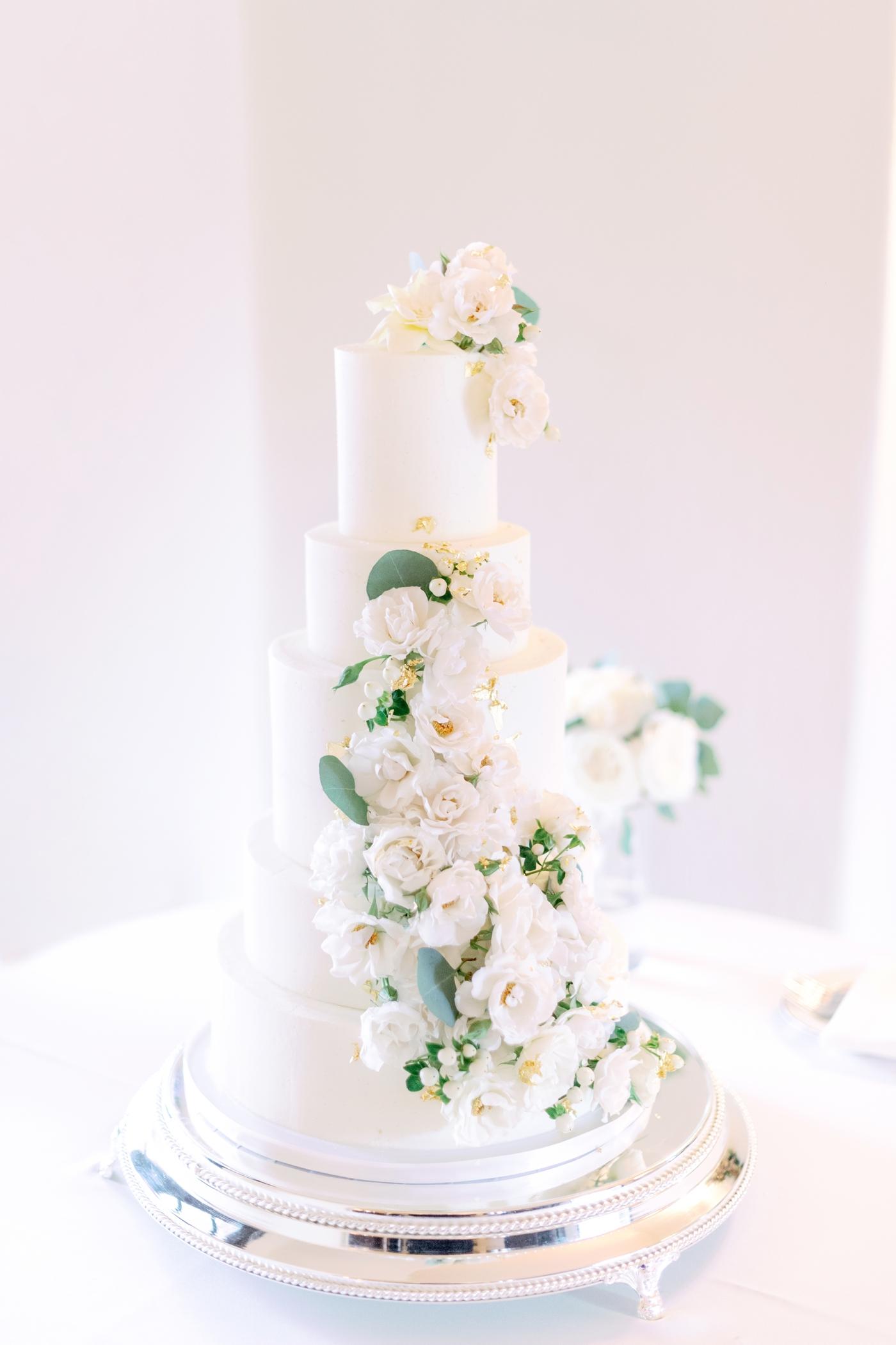 fig and flour wedding cake