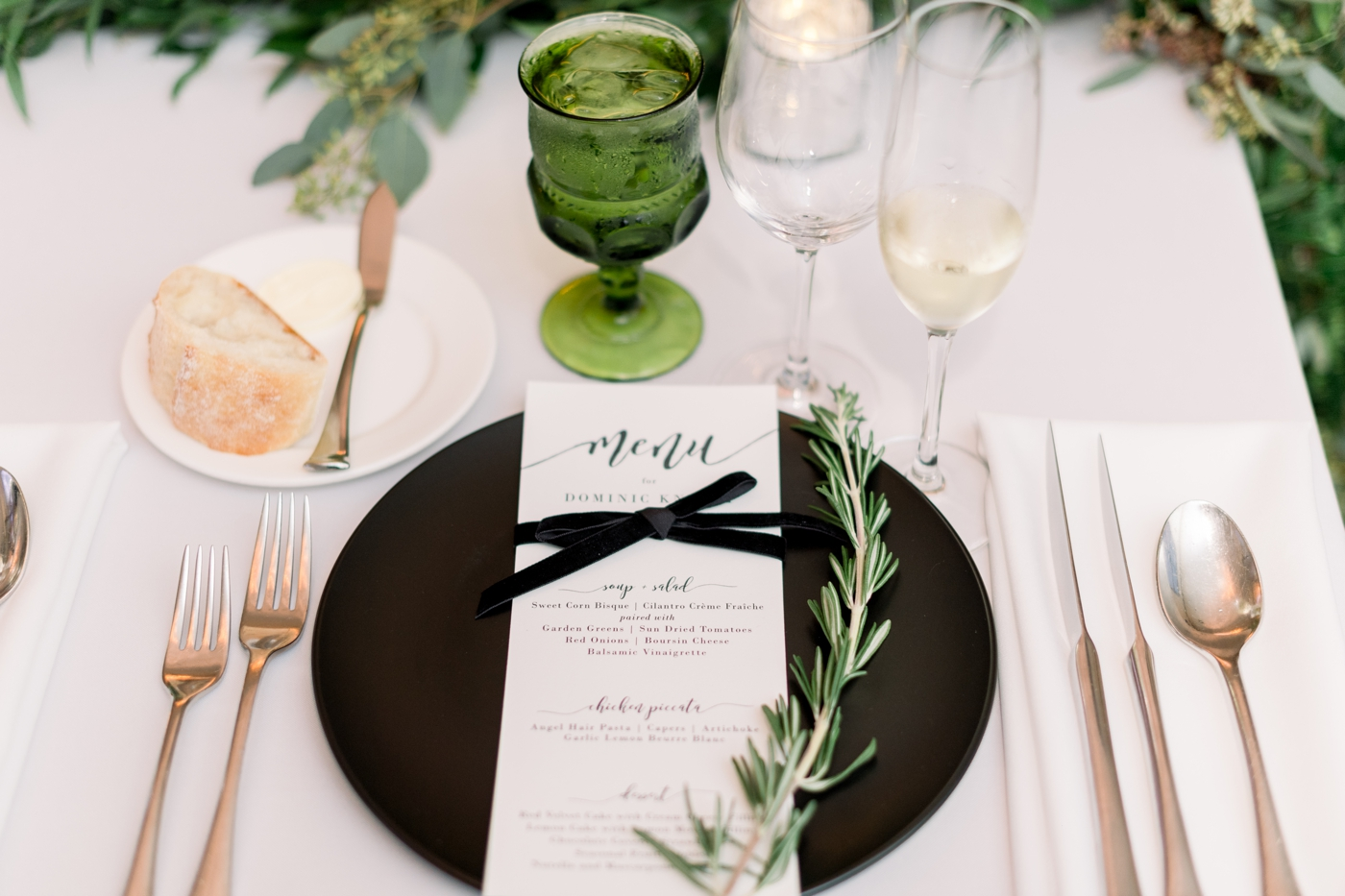 emerald green wedding ideas