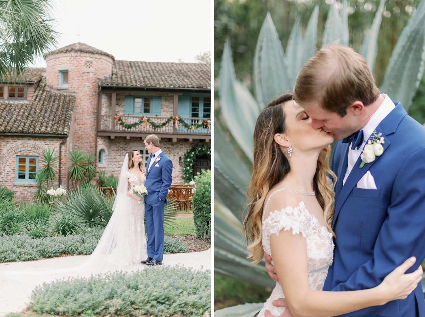 casa feliz bride and groom