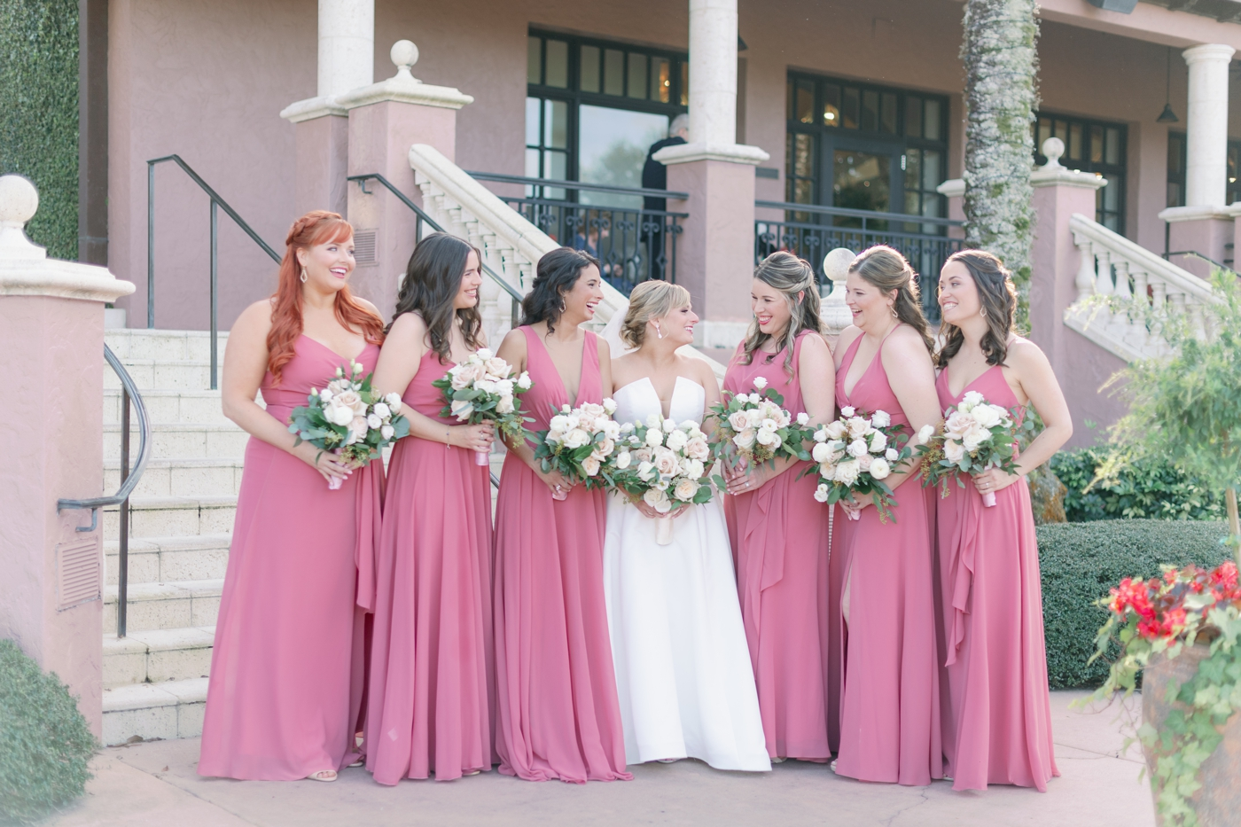 unique bridesmaid dress color
