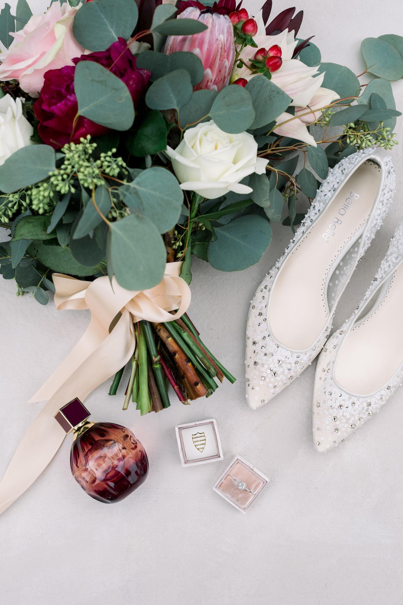 bright florida winter wedding