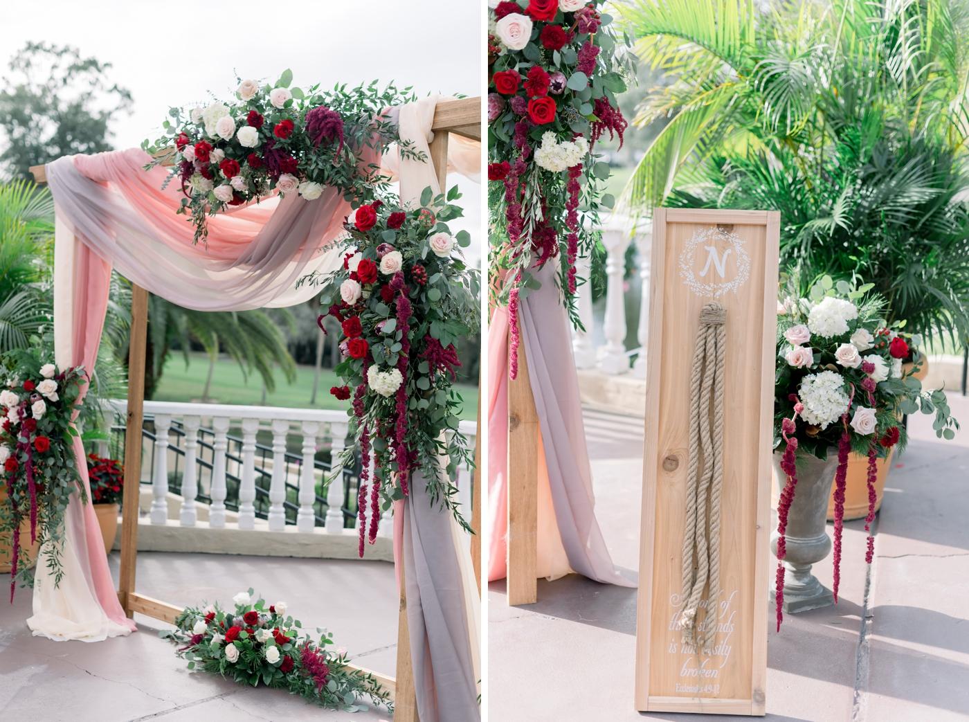 romantic mission inn wedding