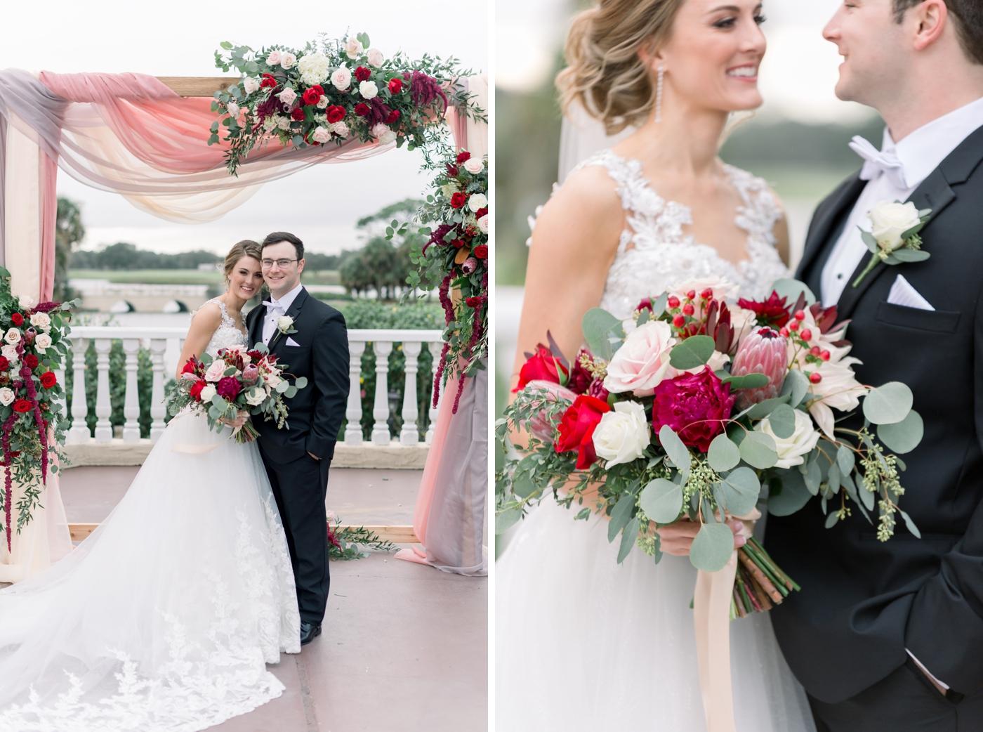 mission inn wedding portraits