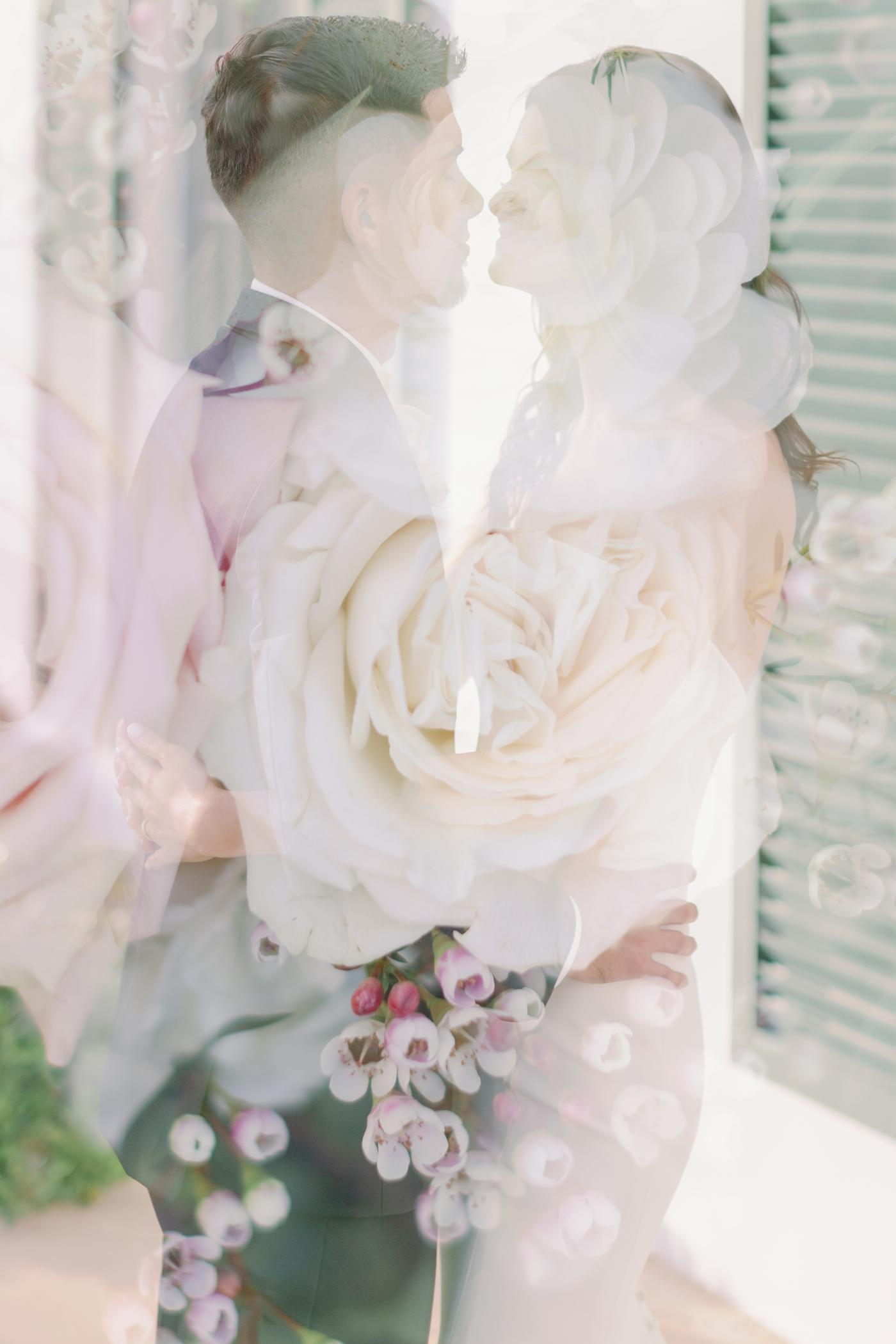 overlay wedding photography
