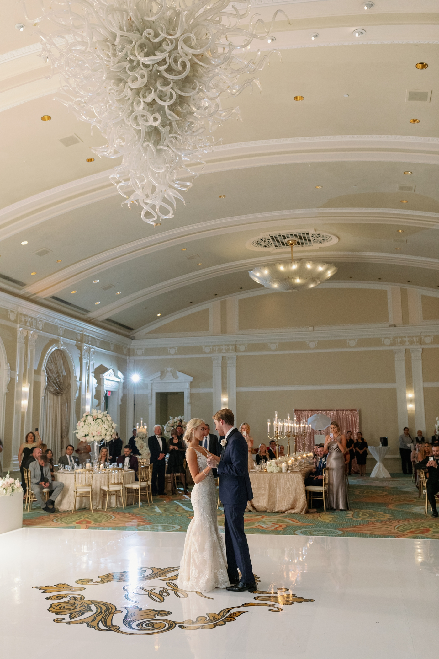 the vinoy ballroom reception photography