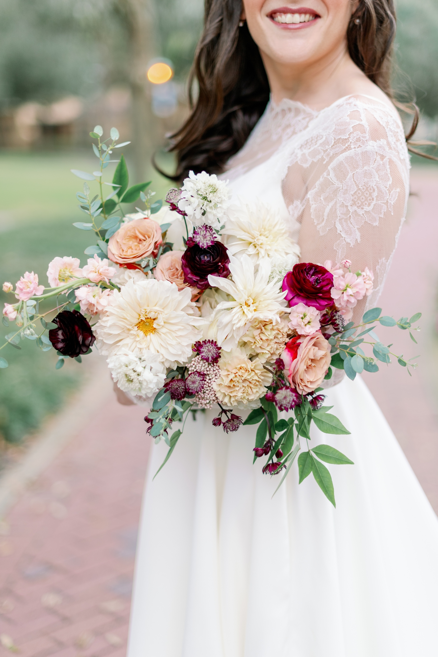 velvet and twine bouquet