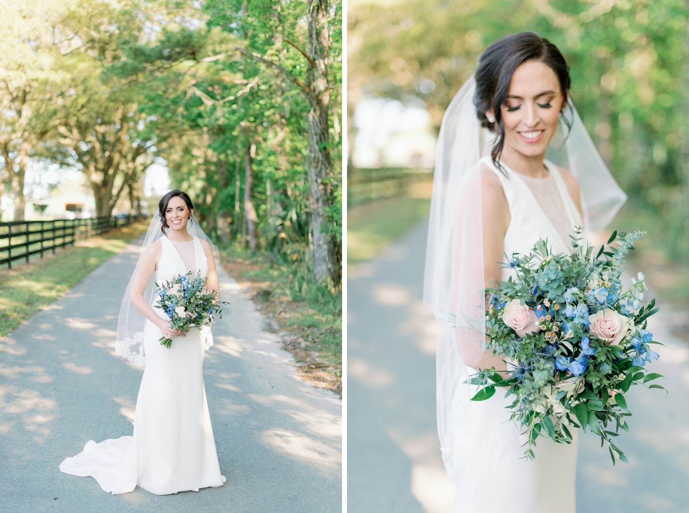 outdoor bride photography