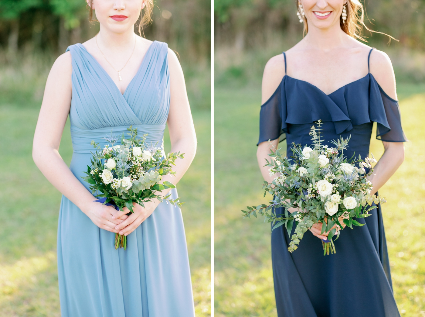 bridesmaids dress photography