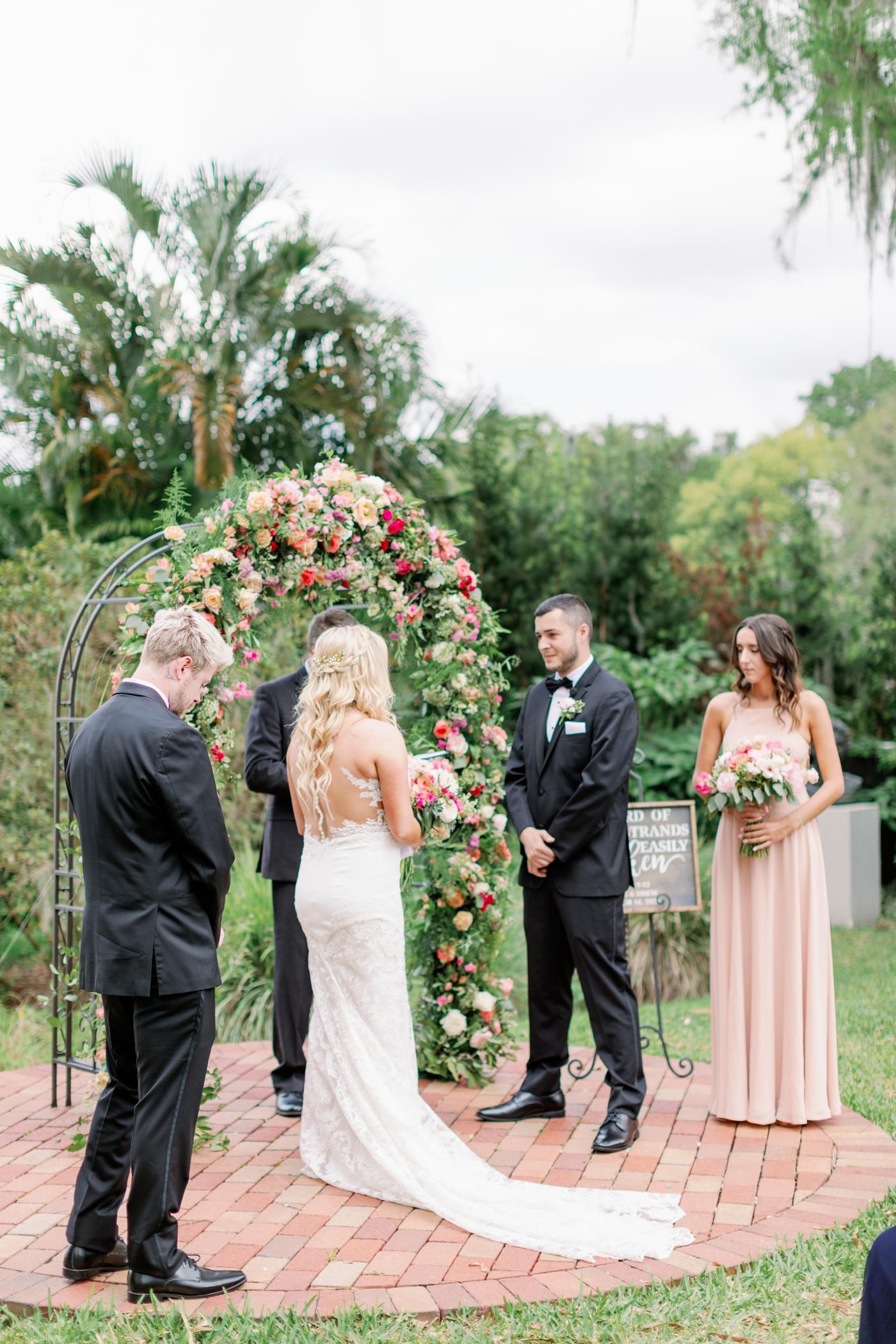 intimate wedding orlando photographer