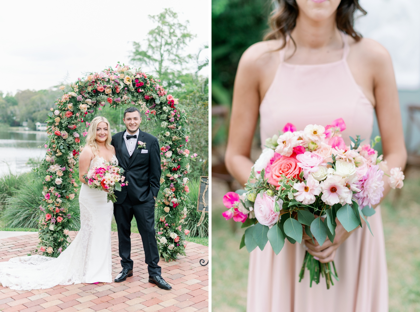 pixies and petals wedding floral