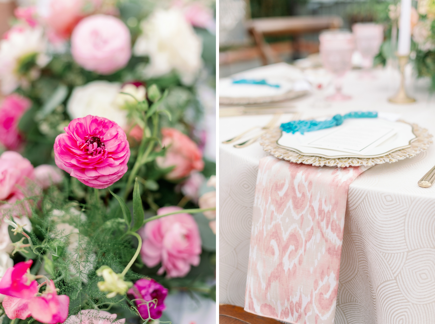 pattern wedding inspo