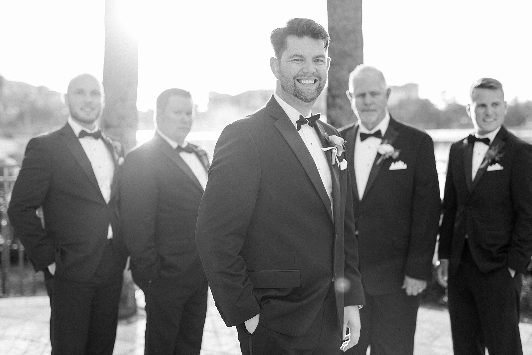 groomsman wedding photographer