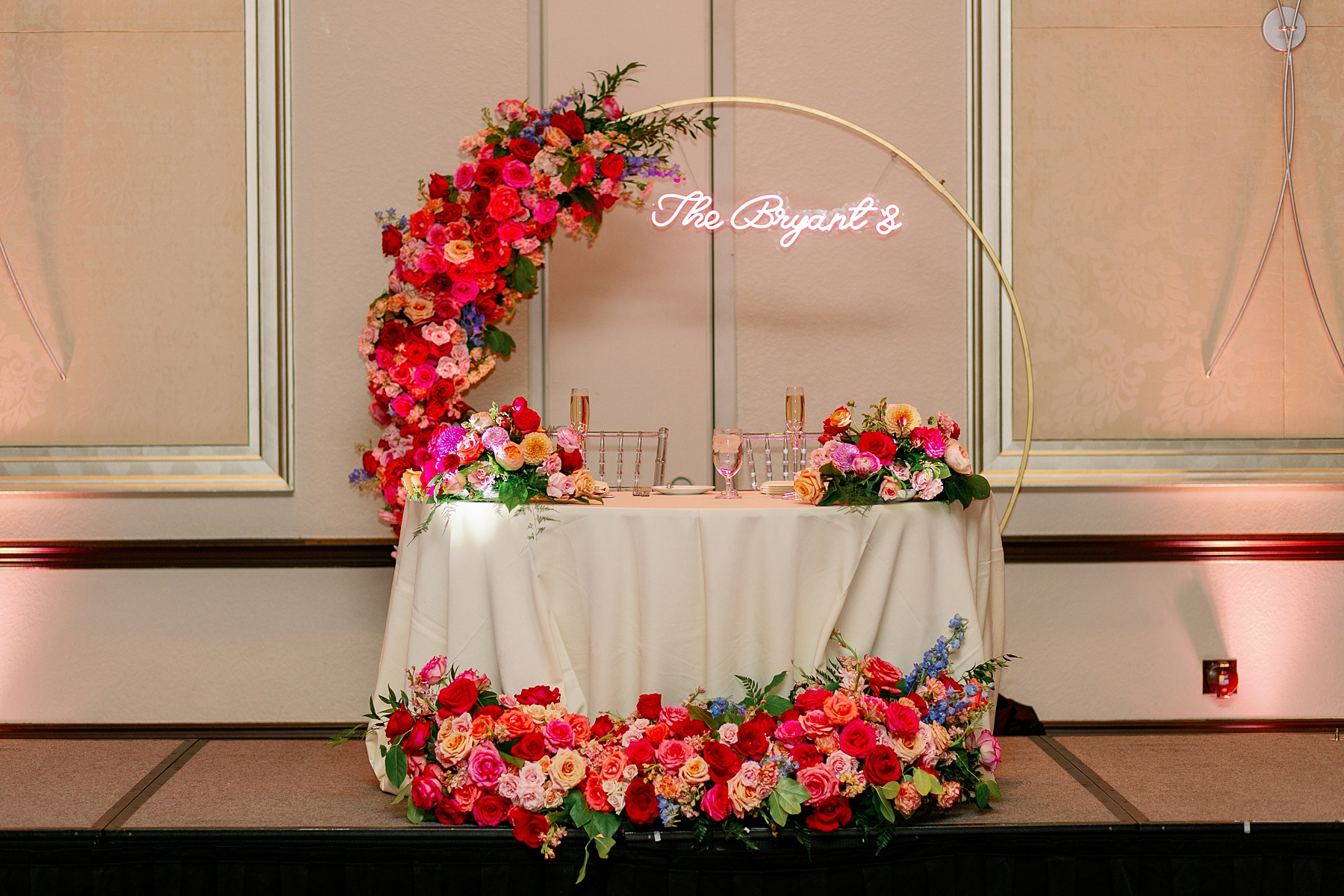 wyndham grand resort wedding reception